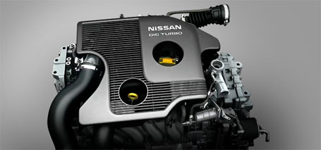 1.6-Liter Direct Injection Gasoline (DIG) Turbo 4-Cylinder Engine