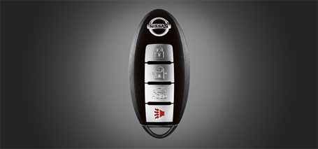 Integrated Key With Remote Keyless Entry and Trunk Release
