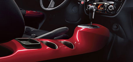 Sport-Motorcycle Inspired Center Console