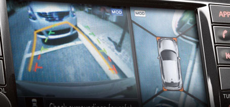 Available Around View® Monitor with Moving Object Detection