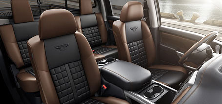 Heated and Cooled Front Seats and Heated Steering Wheel